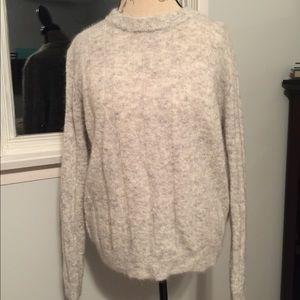 Jana Grey Sweater Size M